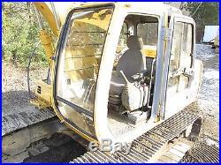 John Deere 120 Excavator with Thumb