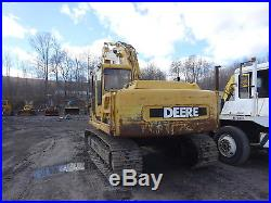 John Deere 160LC Hydraulic Excavator RUNS MINT! 4.5 Diesel 160-LC NICE U/C