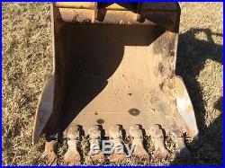 John Deere 2007 135C Excavator, 42 bucket, original paint, one owner
