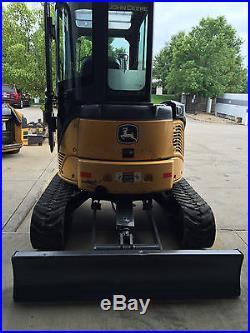 John Deere 2009 35D Mini Excavator 10ft 1880 Hours 24 Bucket Has Thumb