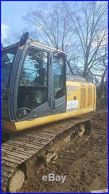 John Deere 200D Excavator