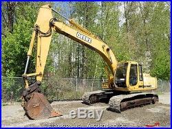 John Deere 200LC Hydraulic Excavator Track Hoe Q/C 6068 Turbo Diesel Aux bidadoo