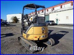 John Deere 27D Mini Excavator Backhoe Diesel-Thumb