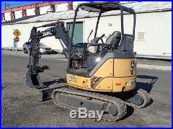 Excavators » Blog Archive » John Deere 27D Mini Excavator