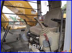 John Deere 330LC Hydraulic Excavator Cab Cold A/C Heat 48 Bucket bidadoo