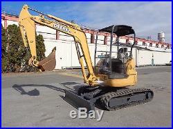 John Deere 35 CZTS Mini Excavator Dozer Blade- Diesel