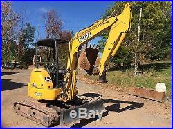 John Deere 35 ZTS Mini Hydraulic Excavator Trackhoe