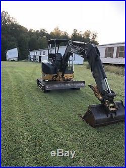 John Deere 35d Mini Rubber Track Excavator Backhoe Bob Cat Crawler Tractor Dozer