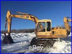 John Deere 490D Hydraulic Excavator