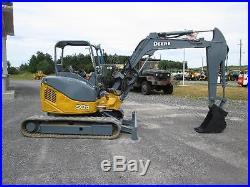 John Deere 50D Farm Midi Excavator Tractor Dozer