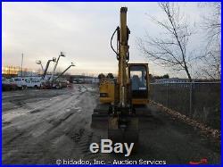 John Deere 70D Midi Excavator Hydraulic Thumb 30 Bucket Steel Tracks bidadoo
