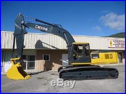 John Deere 790e LC Crawler Hydraulic Excavator Trackhoe, Thumb Available