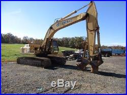 John Deere 792 DLC Track Excavator JD Engine Diesel Stump Sheer & Digging Bucket