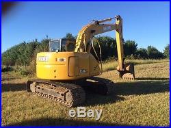 John Deere Excavator, 135C, 2007, 42 bucket, original paint, one owner