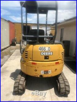 John Deere Mini Excavator 17zts