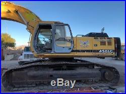 John deere 450lc excavator