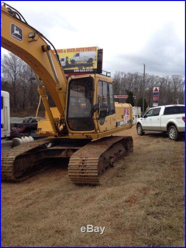 John deere 690 excavator Trackhoe