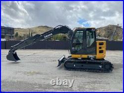 John-deere 75g Excavator MID Size, Year 2013 California Machine, Ac, Very Clean