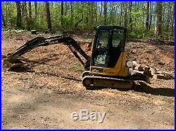 John deere excavator 35G