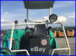 KOMATSU PC20 EXCAVATOR RUBBER TRACK BACKHOE HOE LOADER TRACTOR DIESEL HYDRAULIC