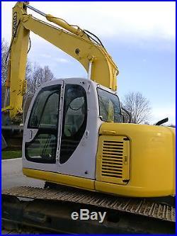 Kobelco Crawler Excavator SK135SR LC-1E No Reserve High Bid Wins