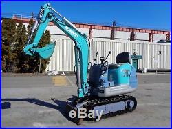Kobelco SK007-3 Mini Excavator Diesel Dozer Blade