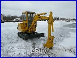 Kobelco SK027 Mini Excavator Tractor Dozer Diesel Rubber Tracks Used 40/90 Boom
