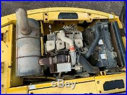Kobelco SK115D Hydraulic Excavator with Blade