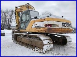 Kobelco SK220LC Mark IV Track Excavator Cab Cummins Diesel Crawler
