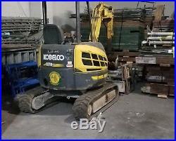 Kobelco SK30SR-3 Excavator low hours