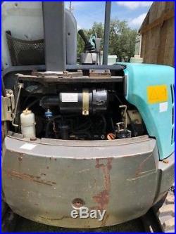 Kobelco SK35 excavator with Yanmar diesel, Ready to work