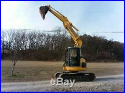 Kobelco Sk75ur Mid-sized Excavator With Blade And Knuckle Boom