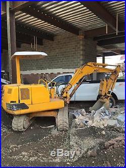 Kobelco mini excavator SK027SR