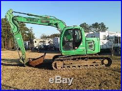 Kobelco model 135SR Track excavator