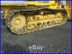 Komatsu D32P-1 Used Dozer Tractor Diesel 6 Way Blade Steel Tracks