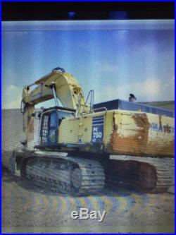 Komatsu Excavator PC-750