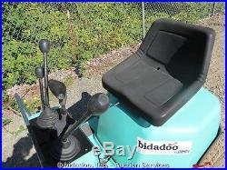 Komatsu PC02-1A Micro Mini Excavator Diesel Rubber Tracks 27 Blade