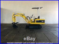 Komatsu PC05 Mini Excavator General Listing