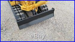 Komatsu PC05 Mini Excavator Trackhoe Backhoe Dozer NO RESERVE YANMAR DIESEL