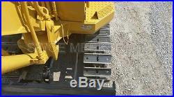 Komatsu PC05 Mini Excavator Trackhoe Backhoe Dozer Yanmar Diesel Engine 1310HRS