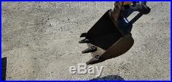 Komatsu PC05 Mini Excavator Trackhoe Backhoe Yanmar Diesel Original Only 1129hrs