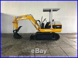Komatsu PC10-2 Mini Excavator S/N 4860