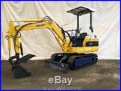 Komatsu PC10-3 Mini Excavator with Hydraulic Thumb S/N 5653