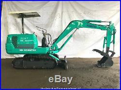 Komatsu PC10-7 Mini Excavator General Listing