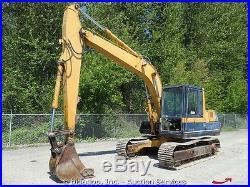 Komatsu PC120-3 Hydraulic Excavator Cab Heat 24 Bucket 90HP bidadoo