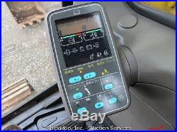 Komatsu PC120-6E Hydraulic Excavator Thumb Enclosed Cab Heat A/C 2-Buckets