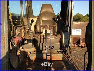 Komatsu PC120-6 excavator