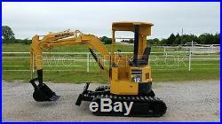 Komatsu PC12UU Mini Excavator Trackhoe Backhoe Dozer Yanmar Diesel Engine