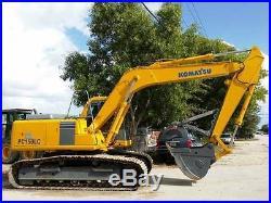 Komatsu PC150LC-6 Excavator