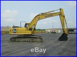 Komatsu PC200LC-7 Excavator Tractor Dozer Diesel Used Heat All Glass Cab Steel
